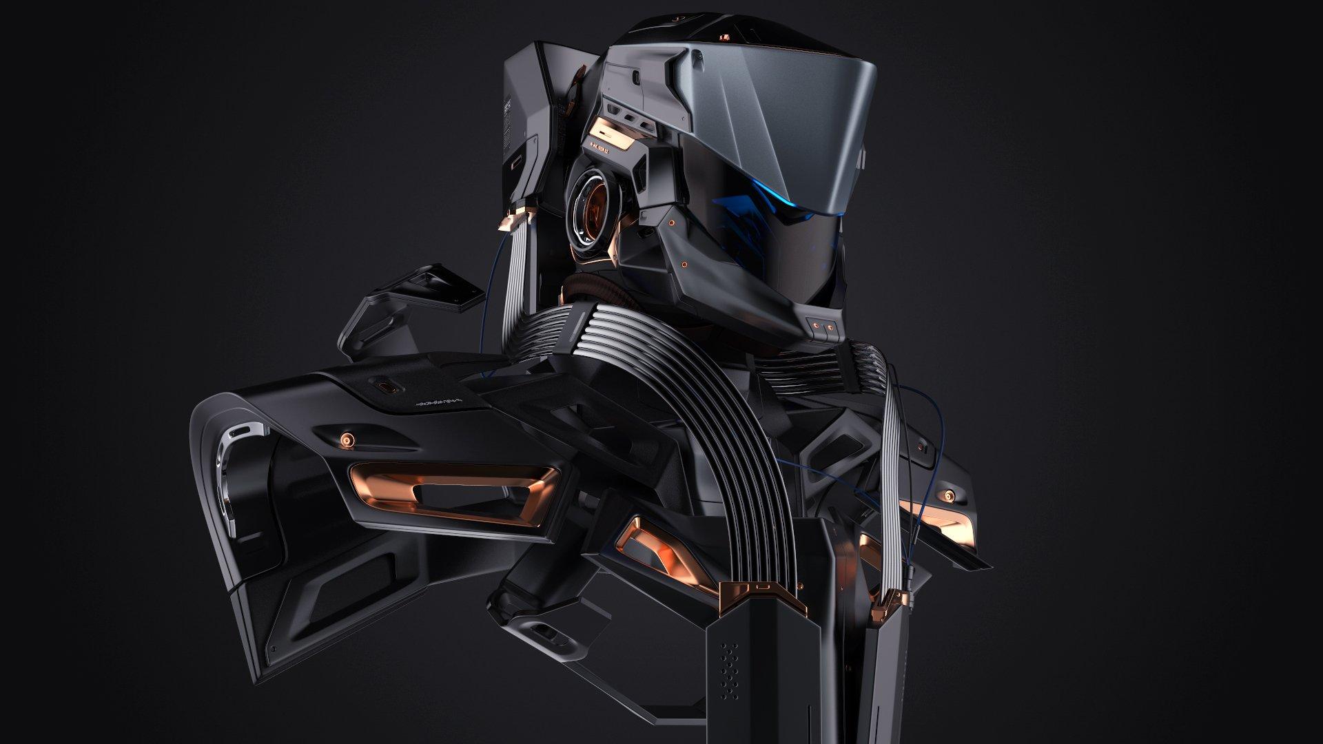 3D Modeling in Maya - Robotic Design