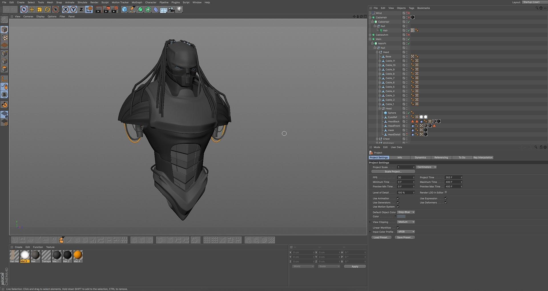 Hard Surface 3D Modeling in C4D - Elementza 3D Art Tutorials